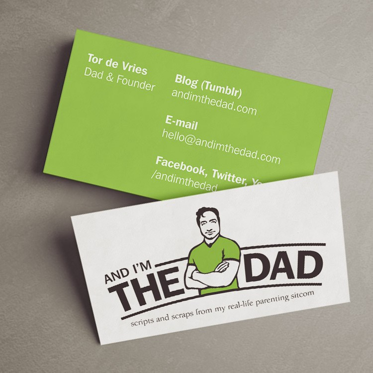 And I\'m the Dad | Logos & Branding | Tor de Vries | Selected Portfolio