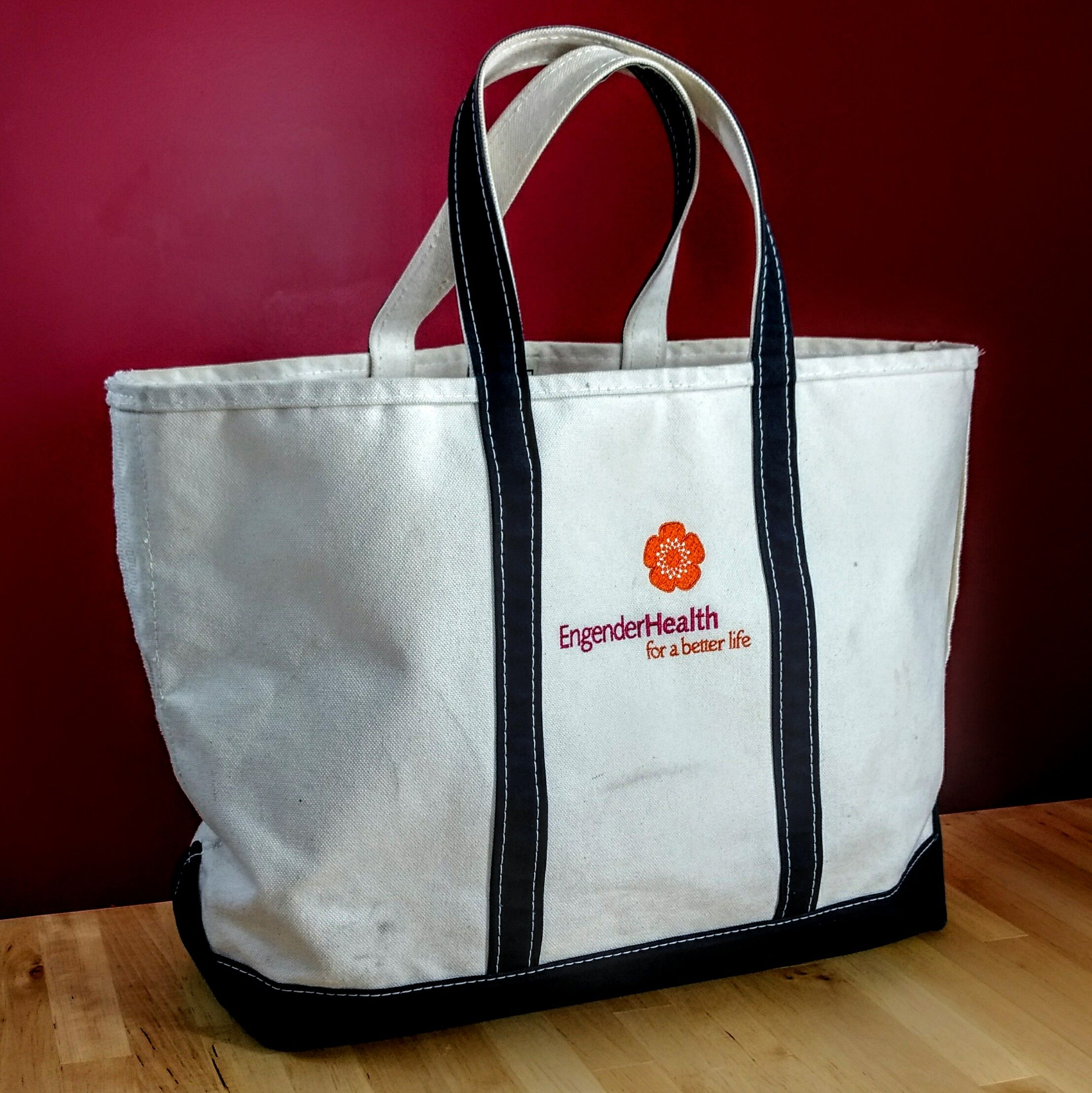 <b>Tote bag</b>, one of many EngenderHealth swag items